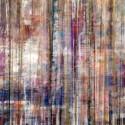 Contemporary Abstract Mixed Media Birch Panel